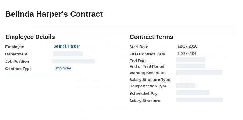 employee contract management