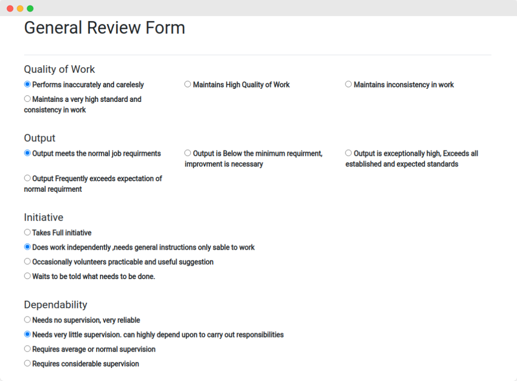 paperless performance review